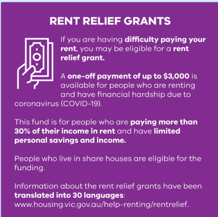 Rent Relief Grants