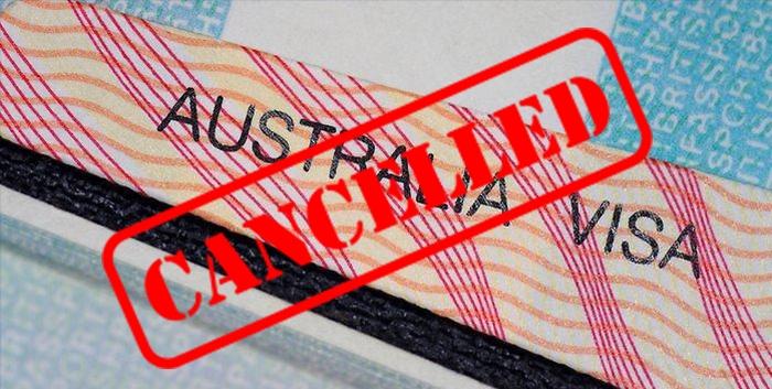 Visa cancellation - Australia