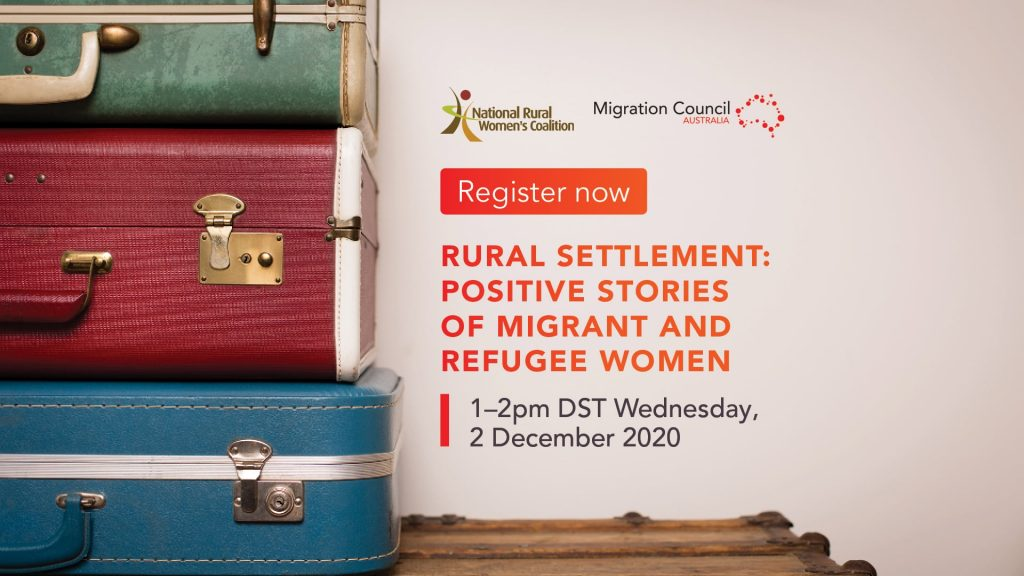 Rural Settlement: Positive Stories of Migrant Women and Refugees