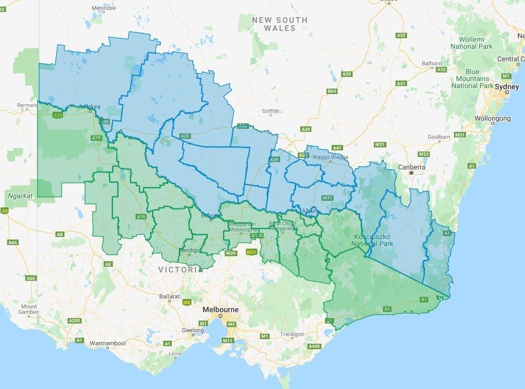 NSW - Vic Border Bubble