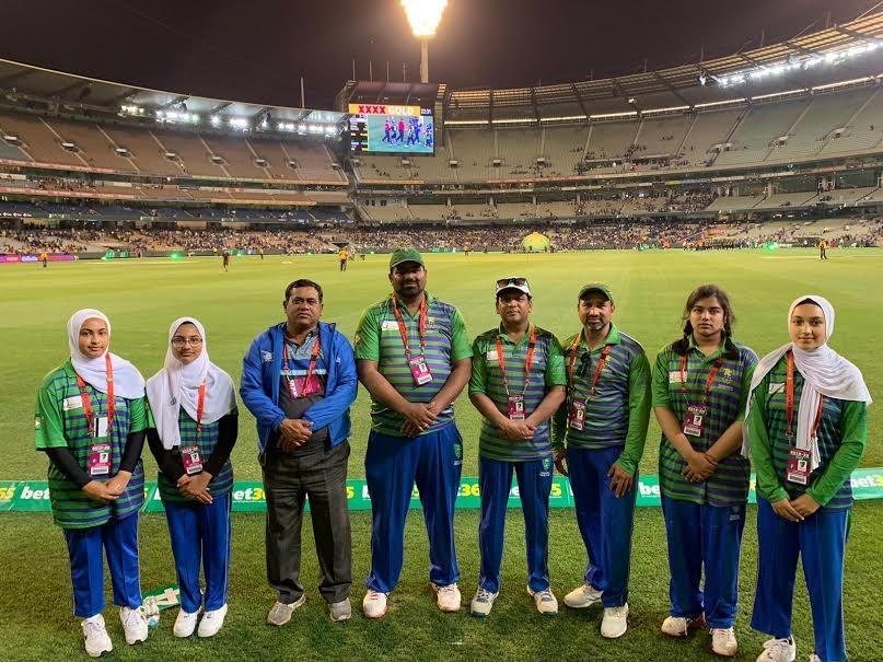 Girls Cricket at MCG