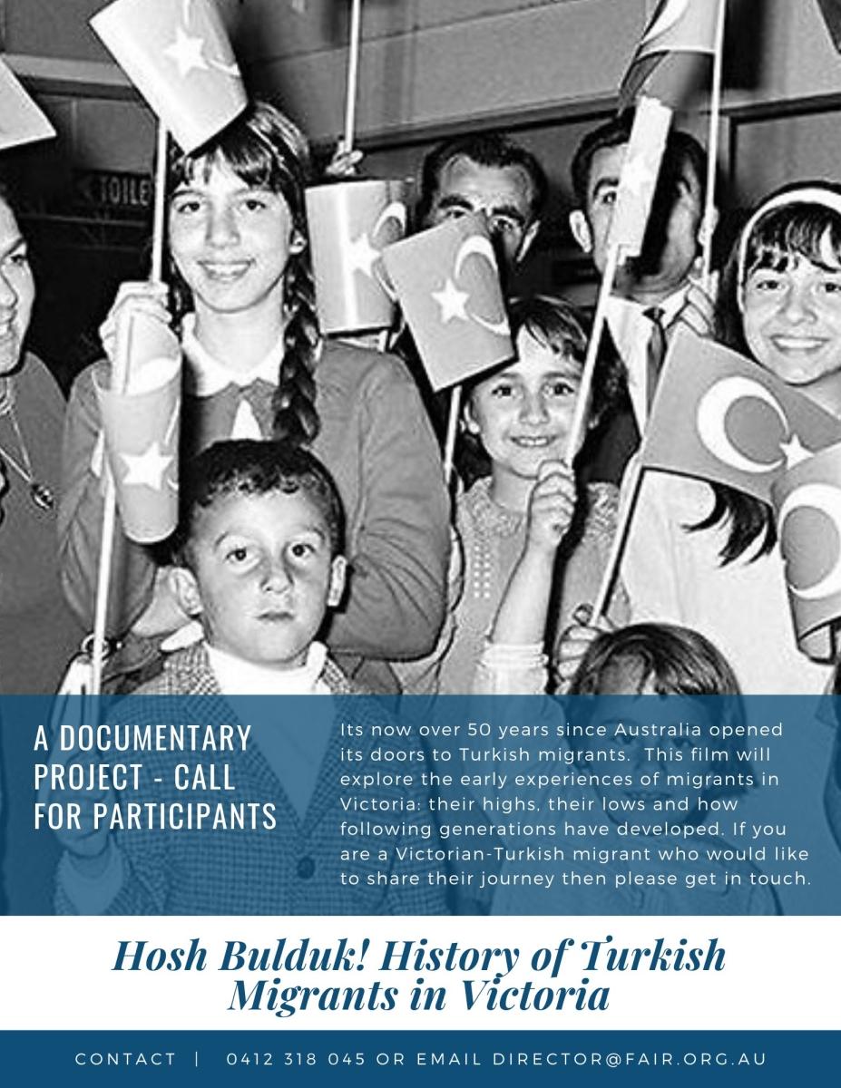 History of  Australian-Turkish migration experience