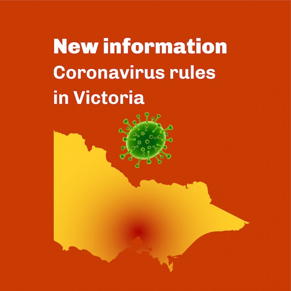 Coronavirus: New Rules and Restrictions for Victoria