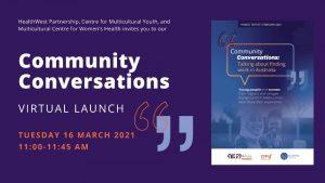 Community Conversations Report Launch