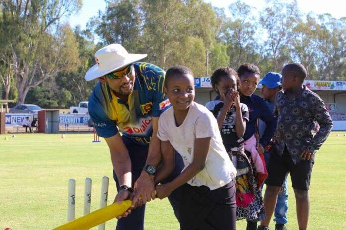 Multicultural cricket at Princess Park