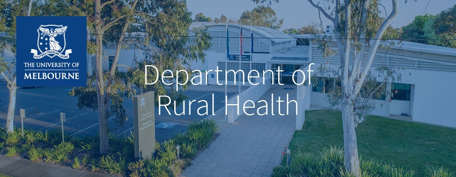 The University of Melbourne, Department of Rural Health , Shepparton