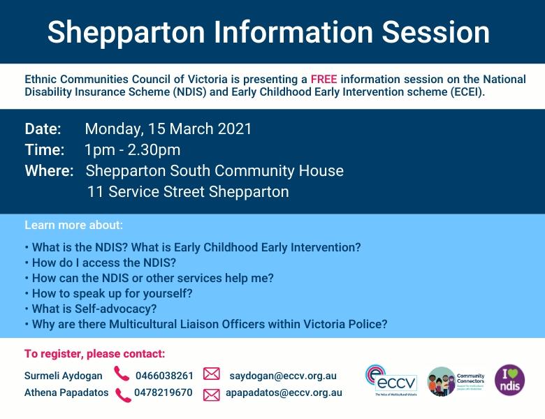 Shepparton Information Session