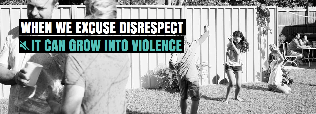 Disrespect grows into violence