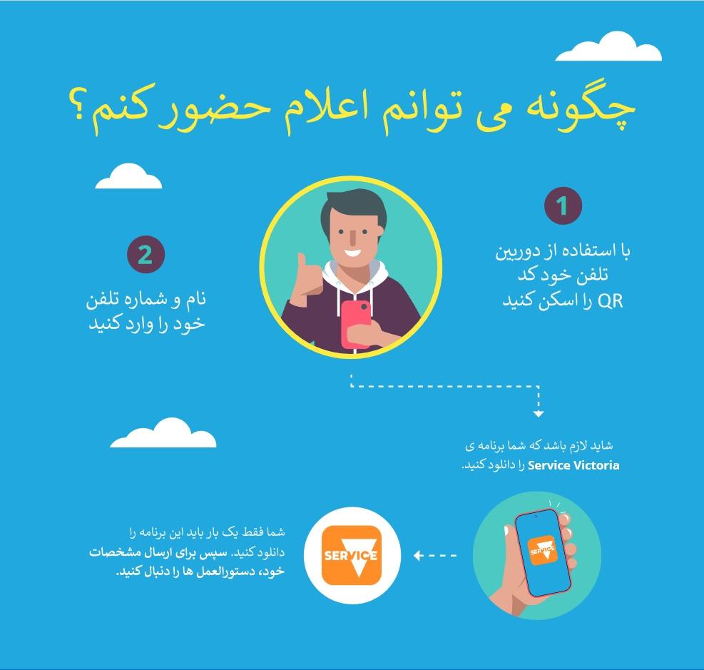 Farsi QR Check in
