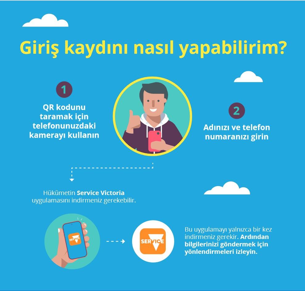 Türkçe QR Check-in