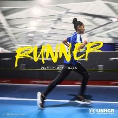 Refugee runner