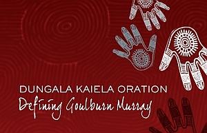 Logo of Dungala Kaiela Oration